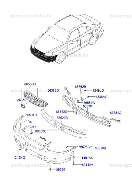 in addition Hyundai Getz 2002 2005 Fuse Box Diagram further 2000 Nissan Sentra Transmission Diagram together with 1995 Toyota Supra Air Conditioning System Troubleshooting additionally Position Of Parts In Engine  partment. on hyundai accent radiator